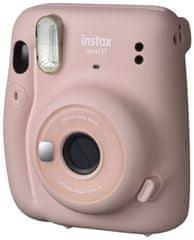 FujiFilm Instax Mini 11 fotoaparat, svetlo roza - Odprta embalaža