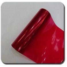 CWFoo Červená fólie na světla 30x100cm