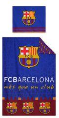 """SETINO Otroška posteljnina """"FC Barcelona"""" - 140x200, 70x90 modra"""