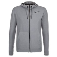 Nike DRI-FIT TRENING FLEECE FZ HDY, 10 | MOŠKO USPOSABLJANJE | MOŠKI | HOODED FULL ZIP LS TOP | COOL GREY / BLACK | XL