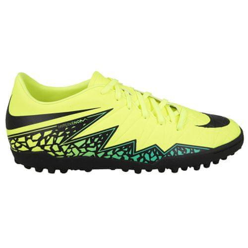 Nike JR HIPERVENOM PHELON II TF, 20   FOOTBALL / SOCCER   GRD ŠOLA UNSX   NIZKA VRH   VOLT / ČRNO-HYPER TURQ-CLR JADE   4Y