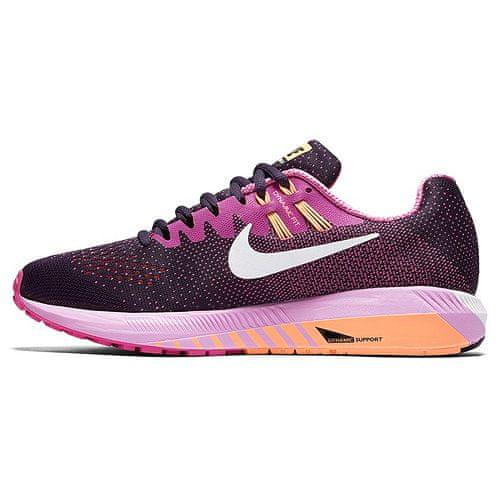 Nike WMNS AIR ZOOM SZERKEZET, 20. | Futás | NŐK | LOW TOP | PRPL DYNSTY / WHT-FR PNK-PCH CRM | 6.5