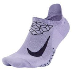 Nike U NK ELT cush NS, 30 | RUNNING | ADULT UNISEX | NO SHOW SOCK | HYDRANGEAS / PURPLE DYNASTY | 12-