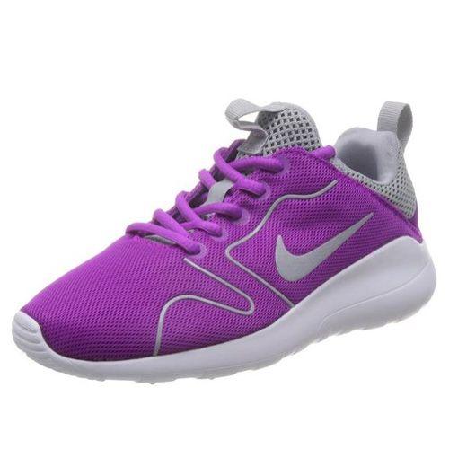 Nike WMNS KAISHI 2.0, 20 | BIEGANIE NSW | KOBIETY | LOW TOP | HYPER FIOLETOWY / WILK SZARY BIAŁY | 7.5