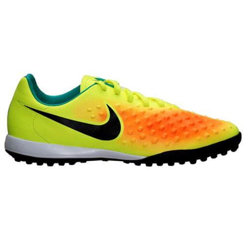 Nike JR MAGISTA OPUS II TF, 20 | FOOTBALL / SOCCER | GRD ŠOLA UNSX | NIZKA VRH | VOLT / ČRNO-SKUPAJ ORANGE-CLR JD | 2.5Y