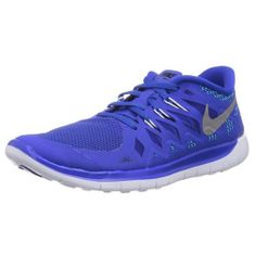 Nike FREE 5.0 (GS), 20 | MLADI ATLETI | BOYS GRADE SCHL | NIZKA VRH | LYN BLUE / MTLLC SLVR-BL LGN-BLK | 3.5Y