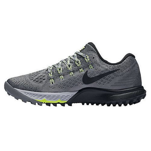 Nike W AIR ZOOM TERRA KIGER 3, 20   URUCHOMIENIE   KOBIETY   LOW TOP   COOL GREY / BLACK-WOLF GREY-VOLT   6.5