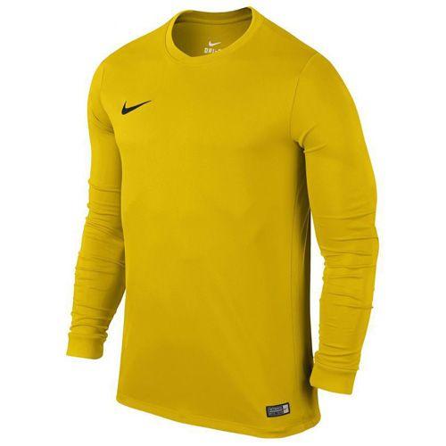 Nike LS PARK VI JSY, 10.   FABOTBALL / FOCCER   MENS   Hosszú ujjú felső   EGYETEMI Arany / FEKETE   2XL