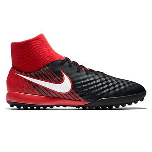 Nike MAGISTAX ONDA II DF TF, 20 | FOOTBALL / SOCCER | MOŠKI | VISOK vrh | ČRNO / BELO-UNIVERZITETNO RDEČO | 9