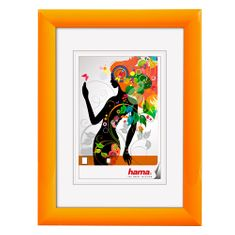 Hama műanyag keret Malaga 20x30 cm, narancs, műanyag keret Malaga 20x30 cm, narancs