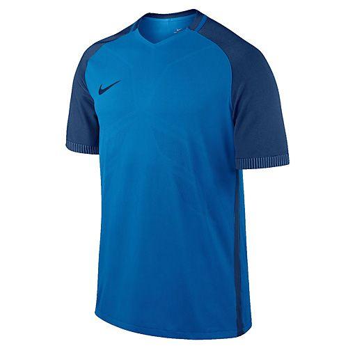 Nike M NK AROSWFT STRKE TOP SS, 10.   FABOTBALL / FOCCER   MENS   RÖVID HÁLÓ FEL   LT FOTÓKÉK / KÉP BINÁRIS KÉK / BINA   VAL VEL