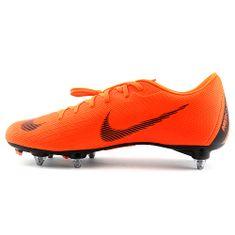 Nike 12. VAPOR ACADEMY SGPRO, 20. | FABOTBALL / FOCCER | Felnőtt UNISEX LOW TOP | ÖSSZES ORANGE / FEHÉR-ÖSSZES ORANG | 7.5