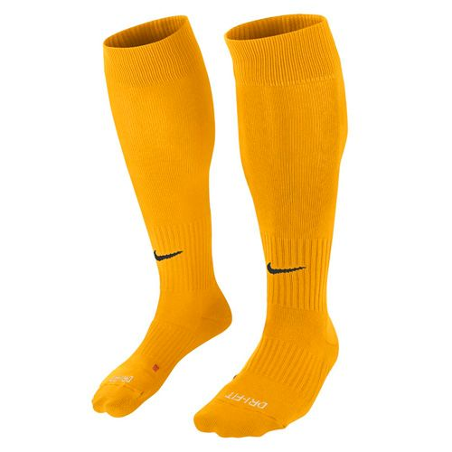 Nike Štulpne , 30 | FOOTBALL / SOCCER | ADULT UNISEX | KNEE HIGH SOCK | UNIVERSITY GOLD / BLACK | L