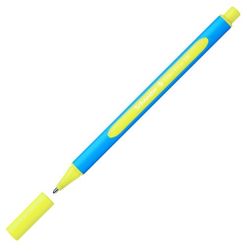 Schneider Ballpoint PEN SLIDER EDGE XB YELLOW, Writing Instruments and Correction Products