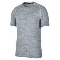 Nike M NK DF KNIT TOP SS, 10 | RUNNING | MOŠKI | KRATEK SLEEVE TOP | ČIST PLATINUM / COOL GREY XL