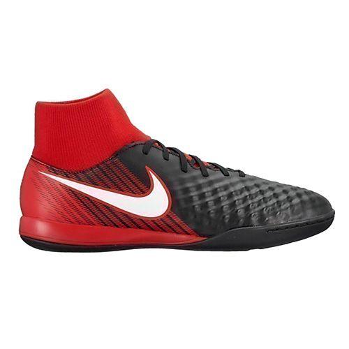 Nike MAGISTAX ONDA II DF IC, 20 | PIŁKA NOŻNA / PIŁKA NOŻNA | MĘŻCZYZNA | HIGH TOP | CZARNY / BIAŁY UNIWERSYTET CZERWONY | 7.5