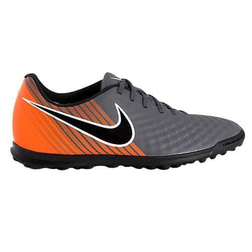 Nike OBRAX 2 KLUB TF, 20 | FOOTBALL / SOCCER | MOŠKI | NIZKA VRH | TEMKA GREY / BLACK-TOTAL ORANGE-W | 9