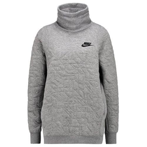 Nike W NSW FNL QUILT, 10.   NSW EGYÉB SPORT   NŐK   KAPCSOLÓ HOSSZÚ UJJÚ SZÉN-FŰTŐ / FEKETE   XS