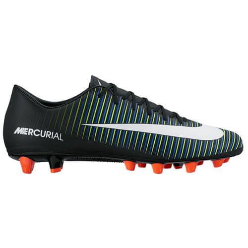 Nike MERCURIAL VICTORY VI AG-PRO, 20 | FOOTBALL / SOCCER | MOŠKI | NIZKA VRH | ČRNI / WHT-ELCTRC GRN-PRMNT BL | 8.5