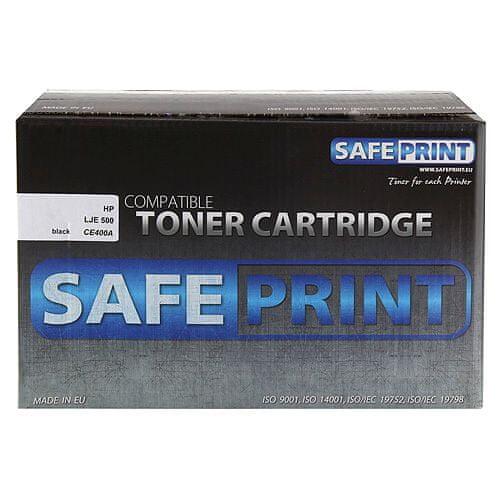 Safeprint Toner črn | 5500pgs | HP CE400A | LJE 500 M551dn, Laserski tiskalniki tonerji |