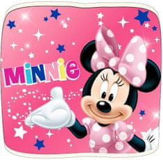 "Eplusm Otroški šal - obarvana ""Minnie Mouse"" - roza - 21x48.5cm"