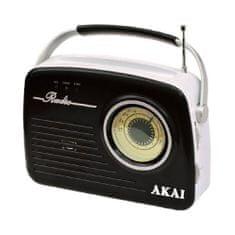 Akai APR-11B FEKETE rádió retro stílusban, 9204487 | APR-11B FEKETE rádió retro stílusban