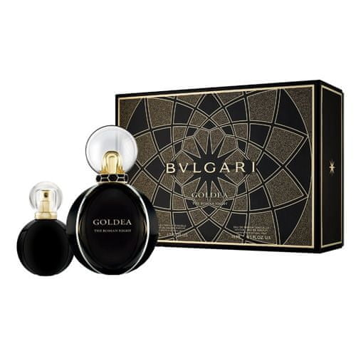 Bvlgari Dárková sada , Goldea The Roman Night, EDP 50 ml, EDP 15 ml