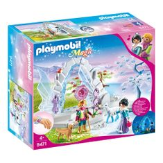 Playmobil Kristalna vrata v zimski svet a, Kristalna palača, 73 kosov