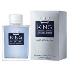 Antonio Banderas Toaletní voda , King of Seduction M, 200ml EDT