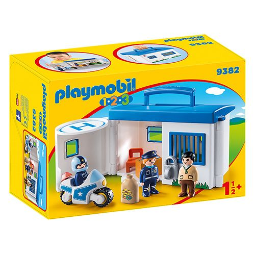 Playmobil Prenosna policijska postaja , 1.2.3, 10 kosov