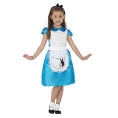 Smiffys Kostium dziewczynki Alenka - Dla dzieci w wieku 4-6 lat, kostiumy halloweenowe