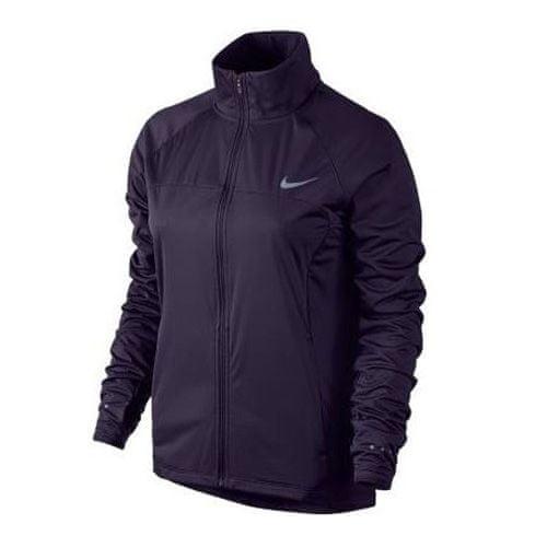 Nike KURTKA SHIELD FZ 2.0, 10 | URUCHOMIENIE | KOBIETY | KURTKA | FIOLETOWA DYNASTIA / ODBLASKOWY SILV | M.