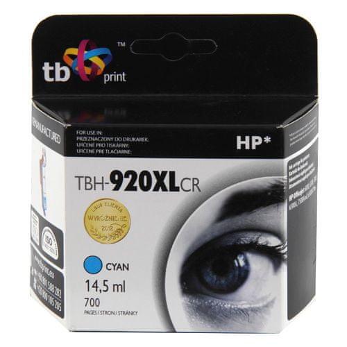 TB print Ink. kazeta TB komp. s HP CD972AE (No.920XL) ref., Ink. kazeta TB komp. s HP CD972AE (No.920XL) ref.