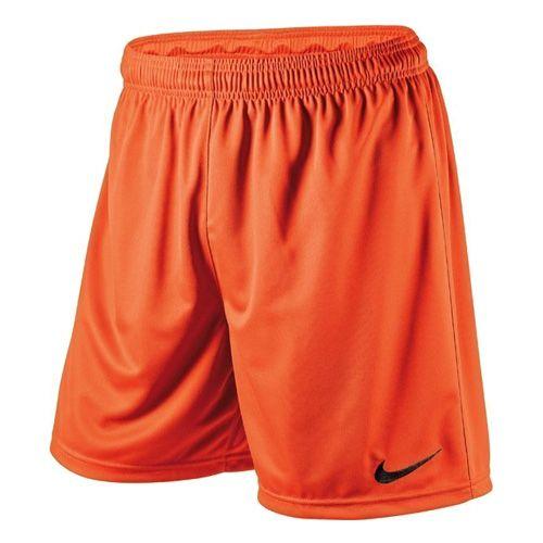 Nike PARK KNIT SHORT WB, 10   PIŁKA NOŻNA / PIŁKA NOŻNA   MĘŻCZYZNA   KRÓTKI   BEZPIECZEŃSTWO POMARAŃCZOWY / CZARNY   XL