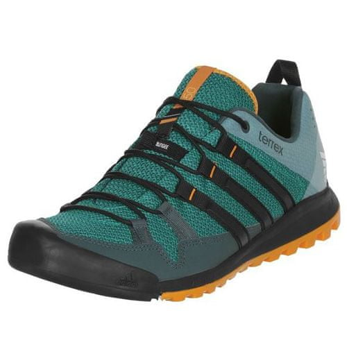 Adidas TERREX SOLO, SZABAD   Cipő - alacsony (NEM FABOTBALL)   EQTGRN / CBLACK / EQTORA   10-