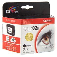 TB print Črnilo. TB kartuša, združljiva s Canonom BC-02 Black, Črnilo. TB kartuša, združljiva s Canonom BC-02 Black