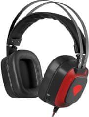Genesis Radon 720 gaming slušalke, 7.1 zvok, LED