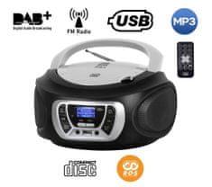 Trevi CMP 510 Boombox, DAB/DAB+, CD predvajalnik, USB, MP3, črn