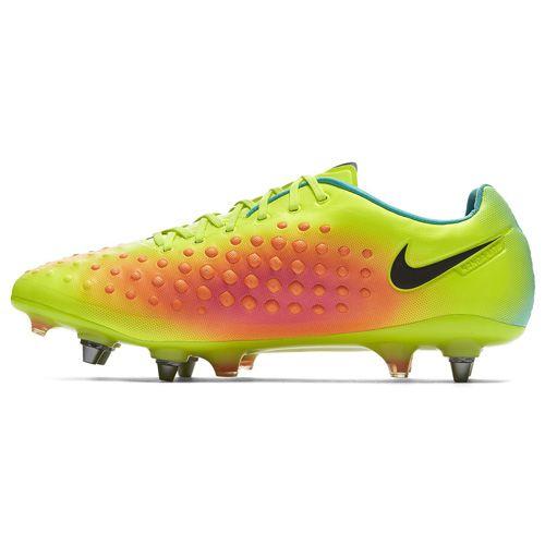 Nike MAGISTA OPUS II SG-PRO, 20.   FABOTBALL / FOCCER   MENS   LOW TOP   VOLT / FEKETE-TOTAL ORANGE-PINK B   7.5