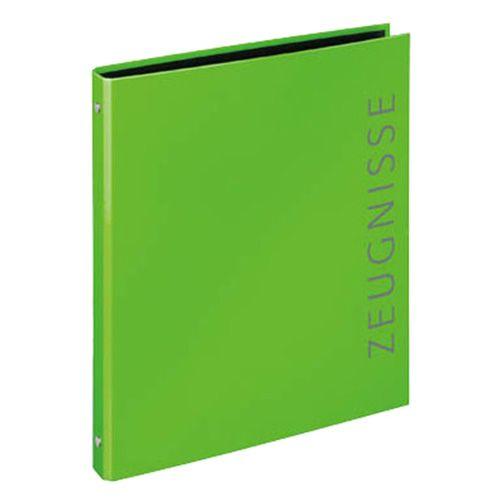 Zeugnisringbuch A4 grün, Zeugnisringbuch A4 grün