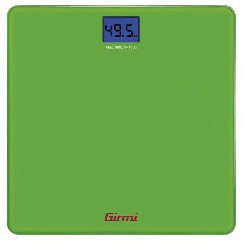 Girmi Bilancia PesaPersona Elettronica 100gr / 180kg VERDE, Bilancia PesaPersona Elettronica 100gr / 180kg VERDE