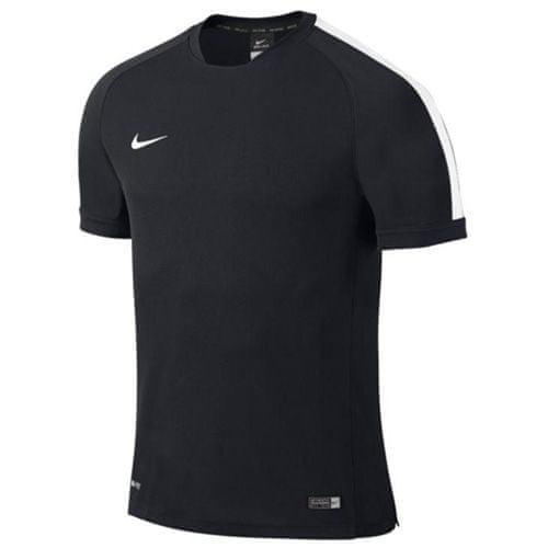 Nike SQUAD15 FLASH SS TRNG TOP, 10.   FABOTBALL / FOCCER   MENS   RÖVID HÁLÓ FEL   FEKETE / FEHÉR / FEHÉR   VAL VEL