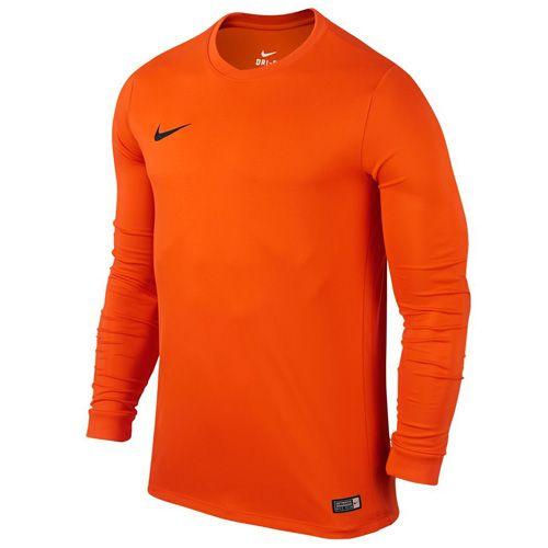 Nike LS PARK VI JSY, 10.   FABOTBALL / FOCCER   MENS   Hosszú ujjú felső   BIZTONSÁGI SZERVEZÉS / FEKETE L