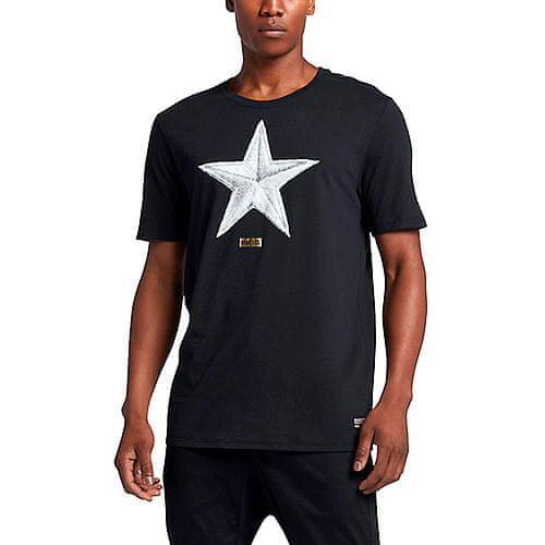 Nike FC STAR TEE, 10   SPORTSWEAR   MENS   SHORT SLEEVE T-SHIRT   BLACK / BLACK   XL
