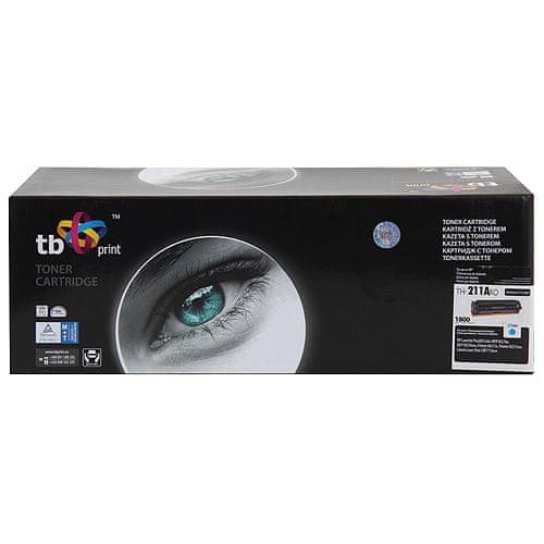 TB print Toner TB kompatibilný s HP CF211A Cy, 1 800S, ren., Toner TB kompatibilný s HP CF211A Cy, 1 800S, ren.