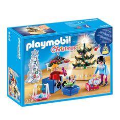 Playmobil Božična dnevna soba , Božič, 65 kosov