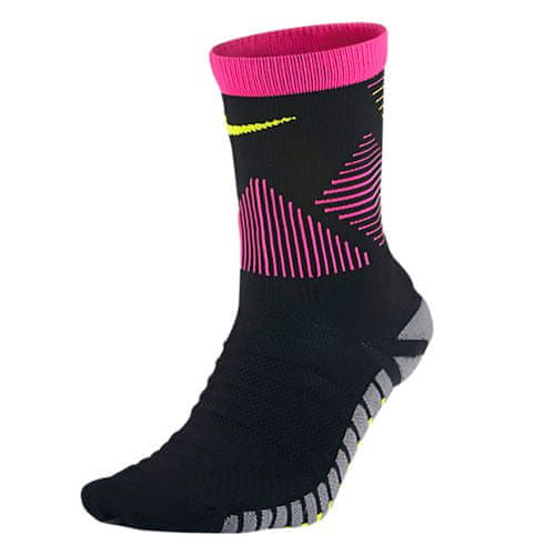 Nike STRIKE MERCURIAL LABlabda, 30.   FABOTBALL / FOCCER   Felnőtt UNISEX CREW SOCK   FEKETE / HIPRES PINK / (VOLT)   12-