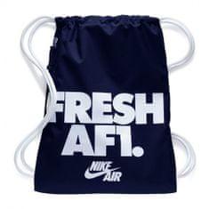Nike DZIEDZICTWO NK GMSK 1 - GFX, 30 | INNE SPORTY NSW | DOROSŁYCH UNISEX Worek GYM | NIEBIESKI / BIAŁY / BIAŁY | MISC