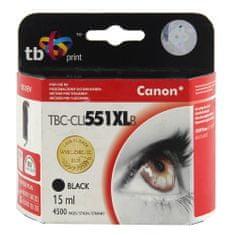 TB print Črnilo. kasetni TB compat. z Canon CLI-551XL črna, Črnilo. kasetni TB compat. z Canon CLI-551XL črna