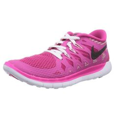 Nike FREE 5.0 (GS), 20 | MLADI ATLETI | GIRL GRADE SCHL | NIZKA VRH | VROČ PINK / ČRNO-BELA | 4Y